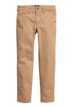 Generous fit Chinos - Beige - Kids | H&M CN 1