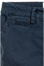 Generous fit Chinos - Dark blue - Kids | H&M CN 2