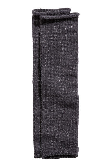 Leg warmers - Dark grey/Glittery - Kids | H&M CN 1