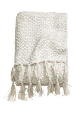 Glittery blanket - White/Silver - Home All | H&M CN 1