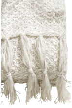Glittery blanket - White/Silver - Home All | H&M CN 3