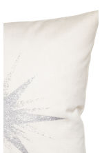 Star-motif cushion cover - White - Home All | H&M CN 2