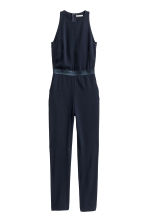 Sleeveless jumpsuit - Dark blue - Ladies | H&M CN 2