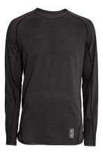 Sports top - Black - Men | H&M CN 2