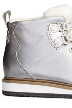 Warm-lined boots - Silver - Kids | H&M CN 4