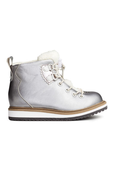 Warm-lined boots - Silver - Kids | H&M CN 1
