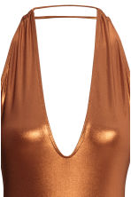 Halterneck swimsuit - Copper - Ladies | H&M CN 3