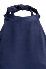 Halterneck body - Dark blue - Ladies | H&M CN 4
