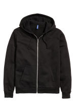 Hooded jacket - Black - Men | H&M 2