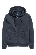 Hooded jacket - Dark blue - Men | H&M CN 2