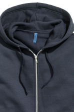 Hooded jacket - Dark blue - Men | H&M 3