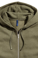 Hooded jacket - Khaki green - Men | H&M 3