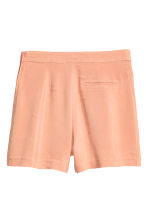 Shorts High waist - Powder beige - Ladies | H&M CN 3