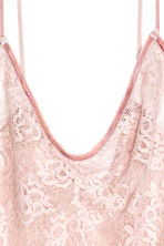 Lace body - Light pink - Ladies | H&M CN 3