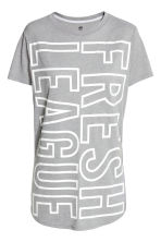 Sports top - Grey - Ladies | H&M CN 2