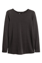 Yoga top - Black - Ladies | H&M CN 2