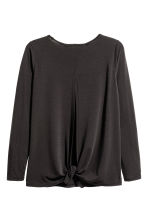 Yoga top - Black - Ladies | H&M CN 3