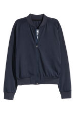 Sports jacket - Dark blue - Ladies | H&M CN 2