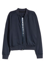 Sports jacket - Dark blue - Ladies | H&M CN 3