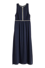 Maxi dress - Dark blue - Ladies | H&M CN 2