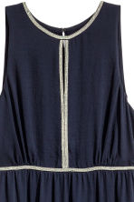 Maxi dress - Dark blue - Ladies | H&M CN 3