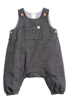 Dungaree romper suit