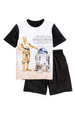 Jersey pyjamas - Black/Star Wars - Kids | H&M CN 1