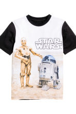 Jersey pyjamas - Black/Star Wars - Kids | H&M CN 3
