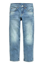 Relaxed Trashed Jeans - Light denim blue - Kids | H&M CN 2