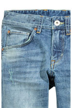 Relaxed Trashed Jeans - Light denim blue - Kids | H&M CN 4