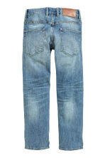 Relaxed Trashed Jeans - Bleu denim clair - ENFANT | H&M CH 3