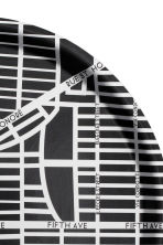 Round tray - Black/City Map - Home All | H&M CN 2