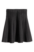 Bell-shaped skirt - Black - Ladies | H&M CN 2