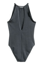 Jersey body - Dark grey - Ladies | H&M CN 3