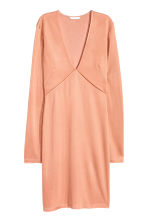 Fitted dress - Apricot - Ladies | H&M CN 2