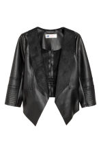 Draped jacket - Black - Kids | H&M CN 2