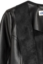 Draped jacket - Black - Kids | H&M CN 3