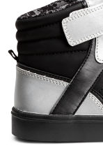 Hi-top trainers - Black/Silver - Kids | H&M CN 4