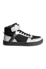 Hi-top trainers - Black/Silver - Kids | H&M CN 1