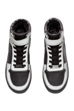 Hi-top trainers - Black/Silver - Kids | H&M CN 2