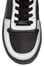 Hi-top trainers - Black/Silver - Kids | H&M CN 3