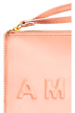 Patent pouch purse - Powder - Ladies | H&M CN 2
