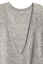 V-neck cashmere jumper - Grey marl -  | H&M CN 3