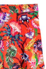 Calf-length skirt - Red/Floral - Ladies | H&M CN 3