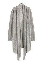 Knitted cardigan - Grey - Ladies | H&M CN 2
