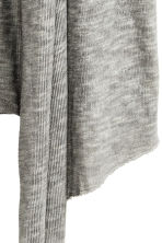 Knitted cardigan - Grey - Ladies | H&M CN 3