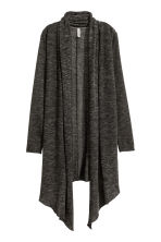 Knitted cardigan - Dark grey - Ladies | H&M CN 2