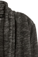Knitted cardigan - Dark grey - Ladies | H&M CN 3