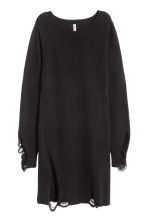 Trashed dress - Black - Ladies | H&M CN 2