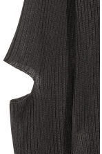 Rib-knit polo-neck jumper - Black - Ladies | H&M CN 3